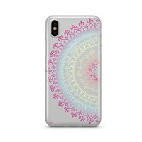 @Okitssteph X Milkyway Cases Cotton Candy Mandala - Clear Case Cover