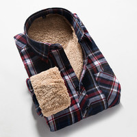Sneak Outfitters Exclusive Mens Checkered Shirt with Fleece