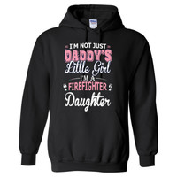 I'M Not Just Daddy's Lttle Girl I'M A Firefighter Daughter - Heavy Blend™ Hooded Sweatshirt