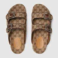 GG Fashion Casual Slide Sandal With Straps Shoes