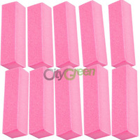 10 Pcs Buffing Sanding Buffer Block Files Acrylic Manicure Nail Art Tips C-10