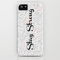 Stay Strong iPhone & iPod Case by Katherine GM