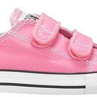 Converse Girl's Chuck Taylor All Star 2V Infant/Toddler - Pink - 7 M US Toddler
