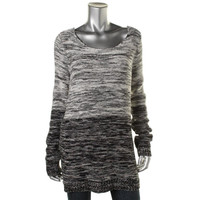 Dakota Collective Womens Knit Marled Pullover Sweater