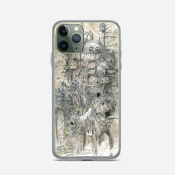 Howls Moving Castle iPhone 11 Pro Max Case