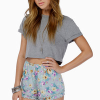 Double The Tier Shorts $18