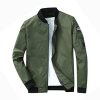 Light-Weight Slim Fit Windbreaker Jacket
