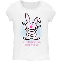Happy Bunny - About Me Youth T-Shirt