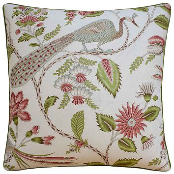 Campagne Mineral & Rose Pillow from Ryan Studio