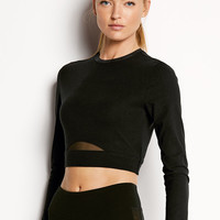Cropped Long Sleeve Tee - Victoria's Secret