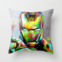 I am... Throw Pillow by Emiliano Morciano (Ateyo)