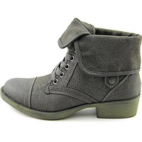 Rocket Dog Womens Taylor Brave Combat Fold Over Ankle Boots