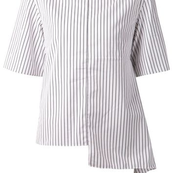 Marni stripe detail asymmetric top