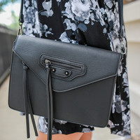 Amelia Crossbody Bag - Black