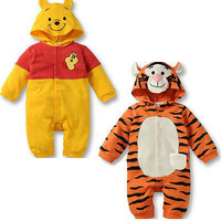 New Newborn Baby  Autumn Winter Clothes Girls Boys clothes One-Pieces Romper Winter Outwear Outfits Set