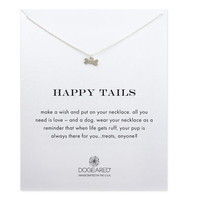Happy Tails Dog Bone Necklace, Sterling Silver | Dogeared