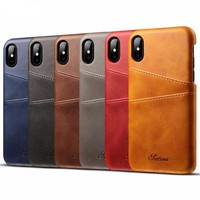 iPhone X Shawl Skirt Style Flip Leather Cases