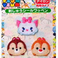 Disney Tsum tsum  iron-on Patches applique Marie Chip and Dale