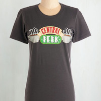 Food Mid-length Short Sleeves I'll Be There for Brew Tee