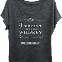 Jack Daniels Women's Daniel's Tennessee Whiskey Short Sleeve T-Shirt