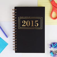 2015 Planner (Rule the World)