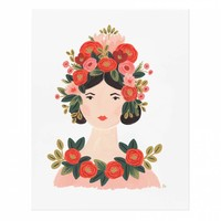 Rosa Art Print by RIFLE PAPER Co. | Made in USA