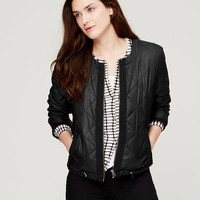 Quilted Puffer Jacket | LOFT