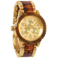 Nixon The 42-20 Chrono Watch Gold/Molasses One Size For Men 22193440101