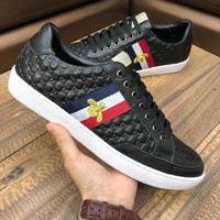 GUCCI 2019 new high-end men's casual and comfortable breathable low-top sneakers