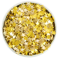 Gold Star Edible Glitter