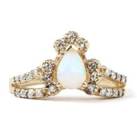 Catbird :: shop by category :: JEWELRY :: Ritual Solitaire Ring, Opal