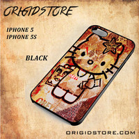 Obey Hello Kitty For Iphone 5/5S Snap On and 3D Case