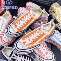 Valentino sells fashionable matching canvas shoes with thick and casual soles