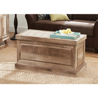 Walmart: Better Homes and Gardens Crossmill Weathered Collection Coffee Table, Lintel Oak