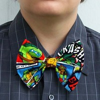 Ninja Turtle Bow Tie TMNT Teenage Mutant bowtie