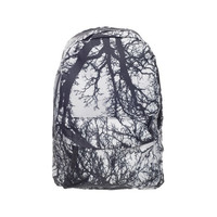 Withered Trees Black & White Backpack Bag