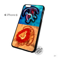 Lion king twin Phone Case For Apple,  iPhone 4, 4S, 5, 5S, 5C, 6, 6 +, iPod, 4 / 5, iPad 3 / 4 / 5, Samsung, Galaxy, S3, S4, S5, S6, Note, HTC, HTC One, HTC One X, BlackBerry, Z10