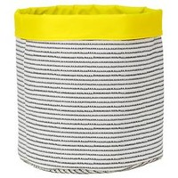 Reversible Canvas Bin Round Squiggle - Pillowfort™ : Target