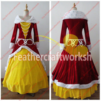 Beauty and Beast Belle Cosplay Dress Belle Dress Belle Cosplay Costume