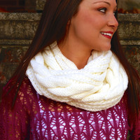 Friends Forever Scarf: Ivory