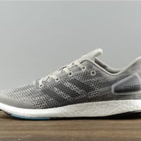 Adidas PureBoost DPR S82010 Gray/Blue Casual Running Shoe