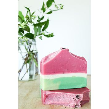 Watermelon - Handcrafted Soap Bar