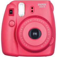 FUJIFILM 16443917 Instax(R) Mini 8 Instant Camera (Raspberry)