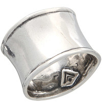 Hammered Cuff Ring, Rings - Silpada Designs