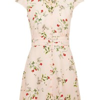 Floral Tea Dress - Topshop