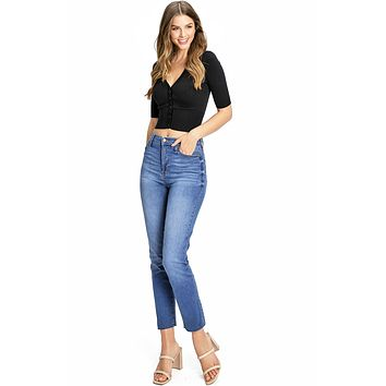 Melrose Slim Straight Jeans