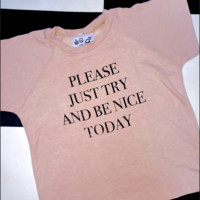 SWEET LORD O'MIGHTY! PLEASE JUST TRY CROP TEE IN NUDE