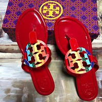 TORY BURCH[tb] 2021 classics Slippers sandals