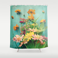 I Carry You With Me Into the World Shower Curtain by Olivia Joy StClaire