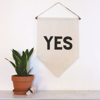 YES Affirmation Banner